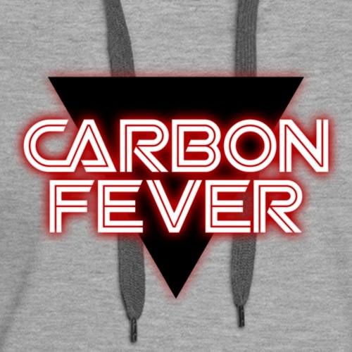 CARBON FEVER Triangle b/w/red