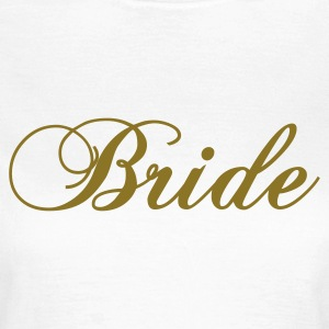 Wit bride 2010 T-shirts - Vrouwen T-shirt