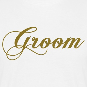 Wit groom 2010 T-shirts - Mannen T-shirt
