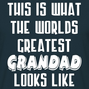 World's Greatest Grandad - Men's T-Shirt