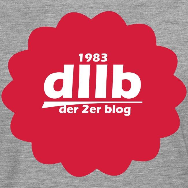 dIIb Circle  Langarm  Rot Schrift  Weiss