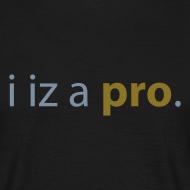 Motif ~ I iz a pro Black & Gold personnalisable.
