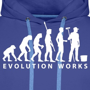 evolution_maler_b_2 Hoodies & Sweatshirts - Men's Premium Hoodie