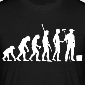 evolution_maler_b T-shirts - Mannen T-shirt