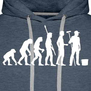 evolution_maler_b Hoodies & Sweatshirts - Men's Premium Hoodie