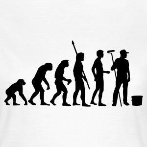 evolution_maler_b T-shirts - Vrouwen T-shirt