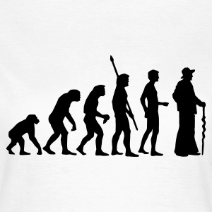Weiß evolution_zimmermann T-Shirts - Frauen T-Shirt