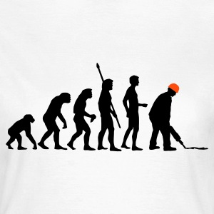 evolution_bauarbeiter_2c T-Shirts - Women's T-Shirt