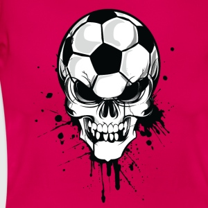 Ruby red Red soccer skull kicker ball football pirat Men's T-Shirts T-Shirts - Women's T-Shirt