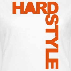 White Hardstyle Side Women's T-Shirts - Women's T-Shirt