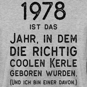 """Geburtstag T-Shirts mit """"1978 Geboren Männer Vintage Spruch"""""""