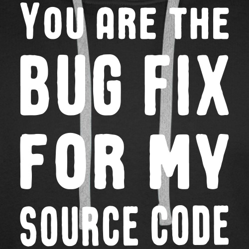 Programmierer Liebe Bug Fix Source Code Spruch