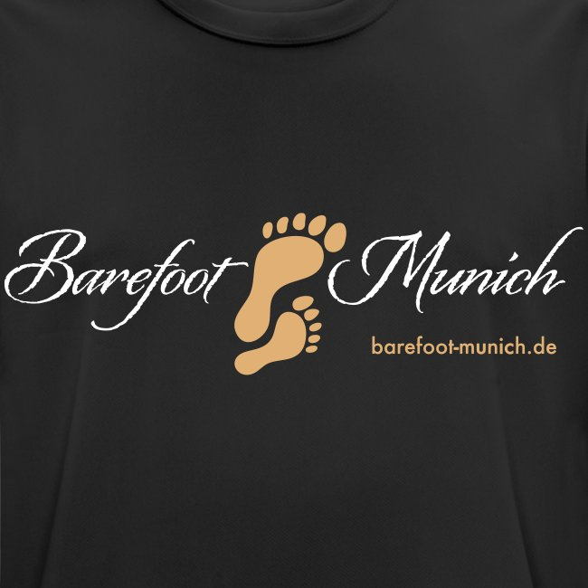 Männer T-Shirt Black AIR - Barefoot Munich