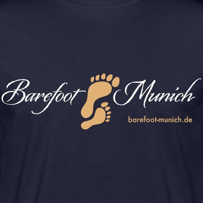 Männer BIO T-Shirt - Barefoot Munich