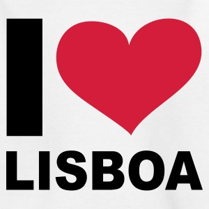 Weiß I LOVE Lisboa ( Portugal ) - eushirt.com Kinder T-Shirts - Teenage T-shirt