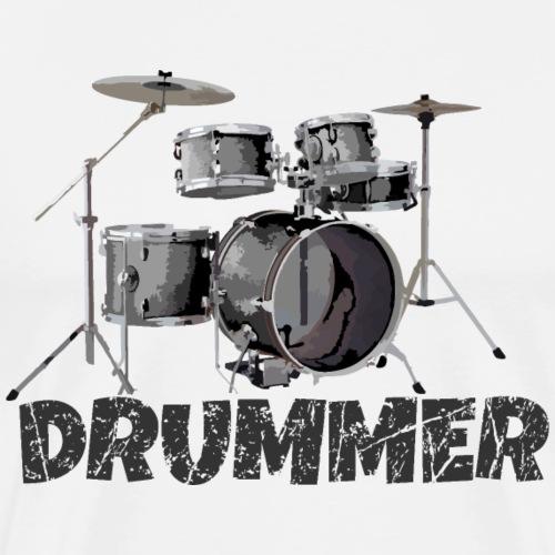 Drummer Drum Kit für Schlagzeuger
