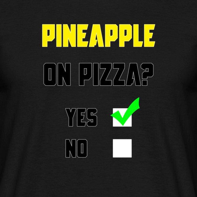 Pineapple Belongs on Pizza!