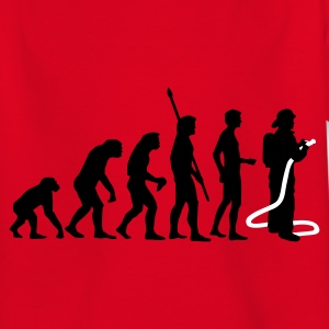 evolution firefighter T-shirts - Teenager-T-shirt