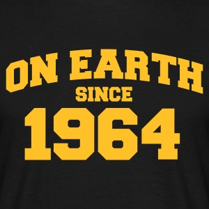 Black onearth1964 Men's T-Shirts - Men's T-Shirt