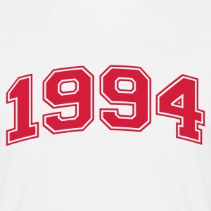 White 1994 Men's T-Shirts - Men's T-Shirt