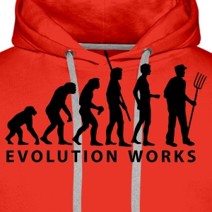 evolution_bauer Hoodies & Sweatshirts - Men's Premium Hoodie