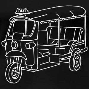 Tuk-Tuk, Taxi aus Indien