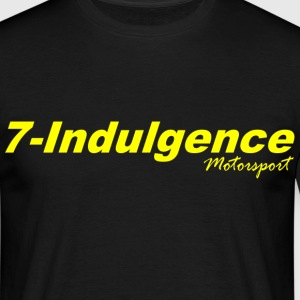 7-Indulgence and Black Rat Racing - Men's T-Shirt