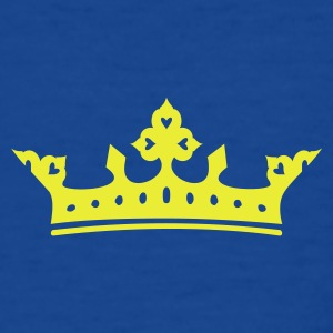 Bleu royal couronne / crown (1c) T-shirts Enfants - T-shirt Ado
