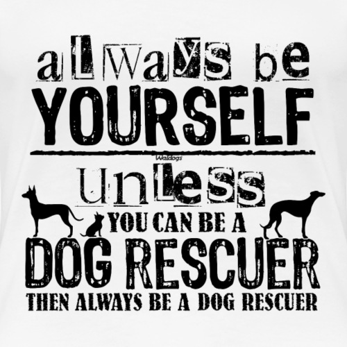 Dog Rescuer Black