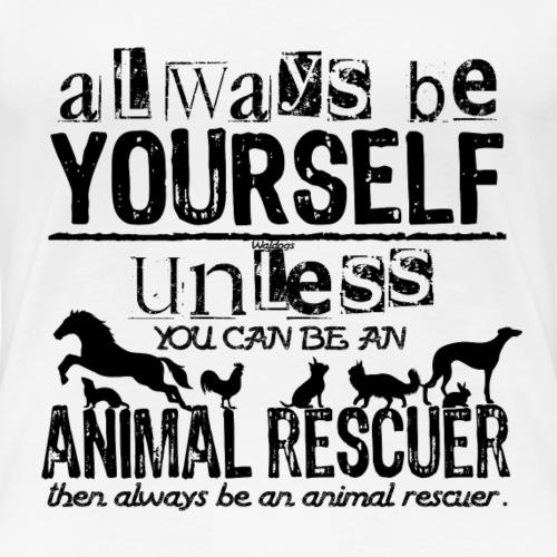 Animal Rescuer Black