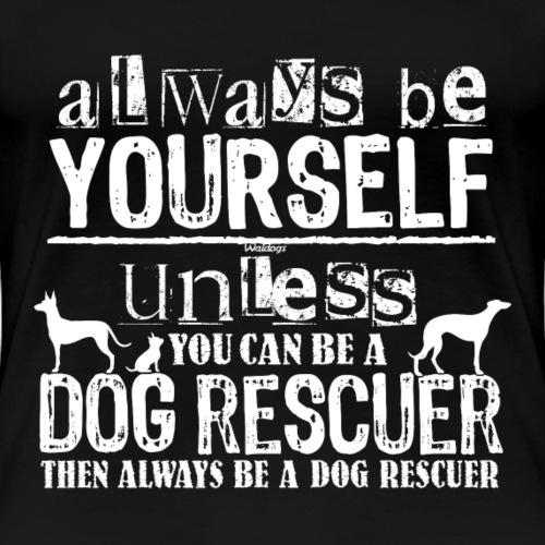 Dog Rescuer White