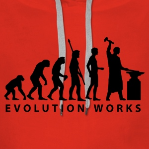 evolution_schmied Hoodies & Sweatshirts - Women's Premium Hoodie