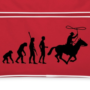 evolution_cowboy Tassen - Retro-tas