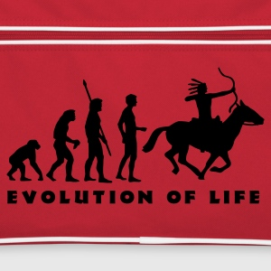evolution_indianer_b Borse - Borsa retrò