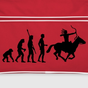 evolution_indianer Borse - Borsa retrò