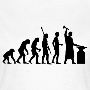 evolution_schmied_b T-shirts - T-shirt dam