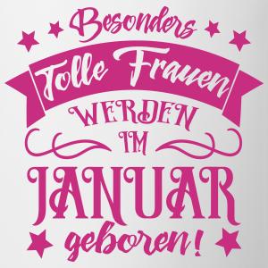 """Geburtstag T-Shirts mit """"Frauen im Januar geboren Geburtstag"""""""