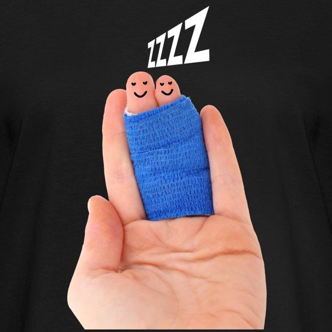 Slapende vingers dames t-shirt