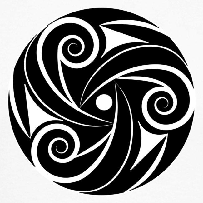 Manches longues homme triskel noeud celtique