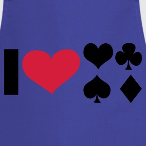 I LOVE Poker - eushirt.com Schürzen - Cooking Apron