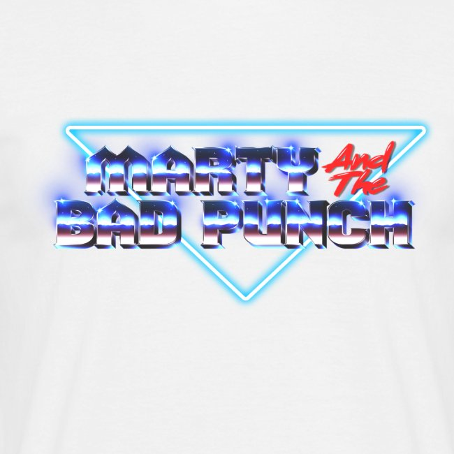 Marty And The Bad Punch - Shirt -Retro Look