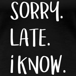 Sorry. Late. I know.