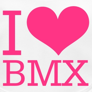 bmx - heart love Accessories - Baby Organic Bib