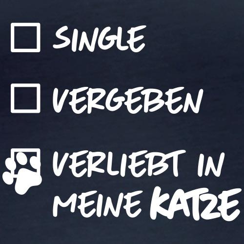 single verliebt katze