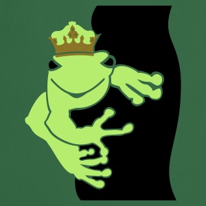 Green Froschkönig / frog prince (3c)  Aprons - Cooking Apron