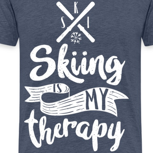 skiing is my therapy wh