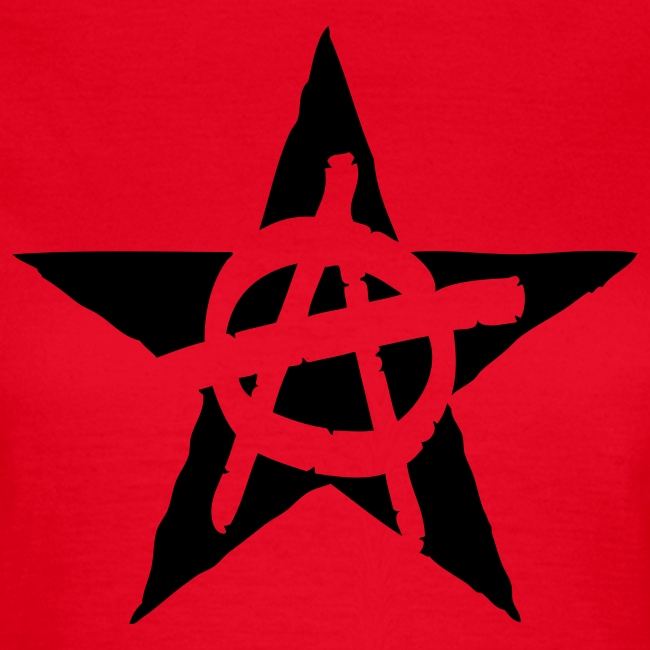 Anarchy Star Women's Tee Shirt