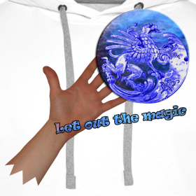 Motiv ~ Hættetrøje, let out the magic