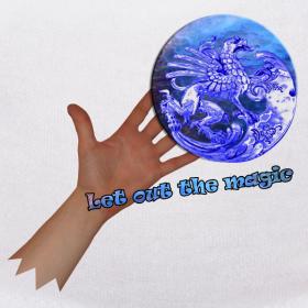Motiv ~ Bamse, let out the magic.