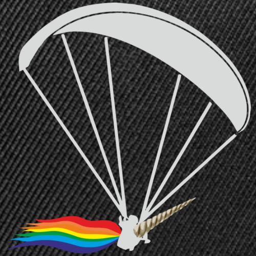 Einhorn Gleitschirmflieger Paragliding Geschenk